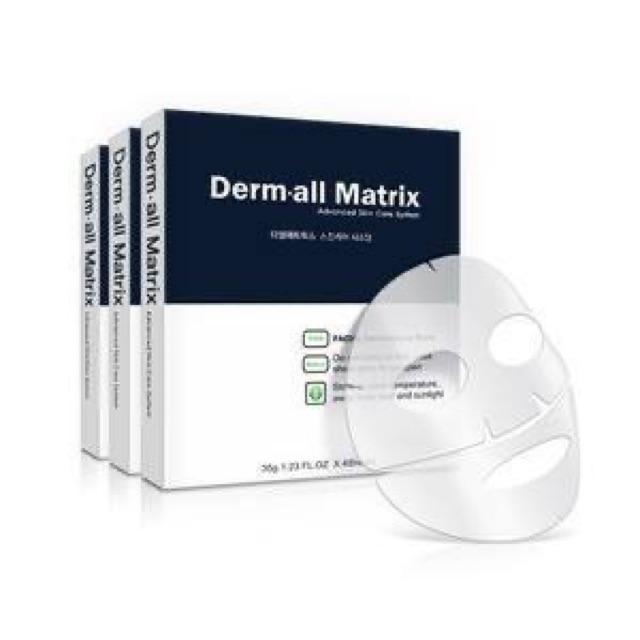 Mặt nạ dưỡng da [FREE SHIP] Derm All Matrix Miếng mặt nạ Mask Derm-all Matrix