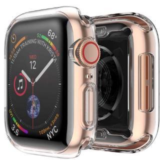 Vỏ nhựa mềm bọc bảo vệ đồng hồ thông minh Apple Watch 3 2 1 42MM 38MM iWatch 4 5 6 se 40MM 44MM