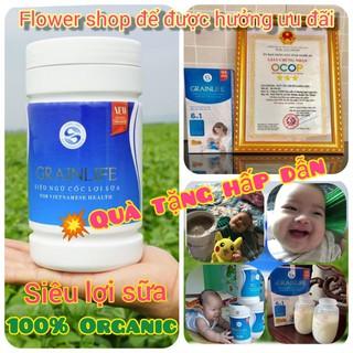 Ngũ Cốc Lợi Sữa Grainlife (500g). 100% Ognanic – Siêu Dinh Dưỡng – Sữa Về Nhiều Sau 3 Ngày [Chính hãng]