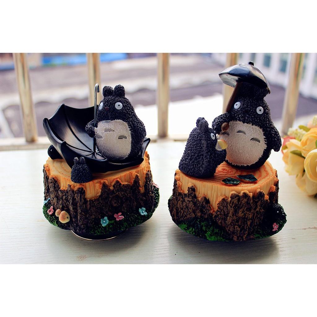 Creative Totoro Music Box Rotating Practical Birthday Gifts Girl