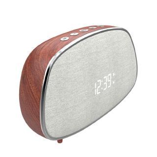 AMORUS Loa Bluetooth Es21 Vỏ Gỗ Phong Cách Retro Hỗ Trợ Đài Fm Và Phụ Kiện