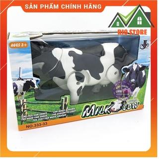 Hộp đồ chơi mô hình bò sữa chạy pin có đèn nhạc 333-33 Rio Store Toy thumbnail