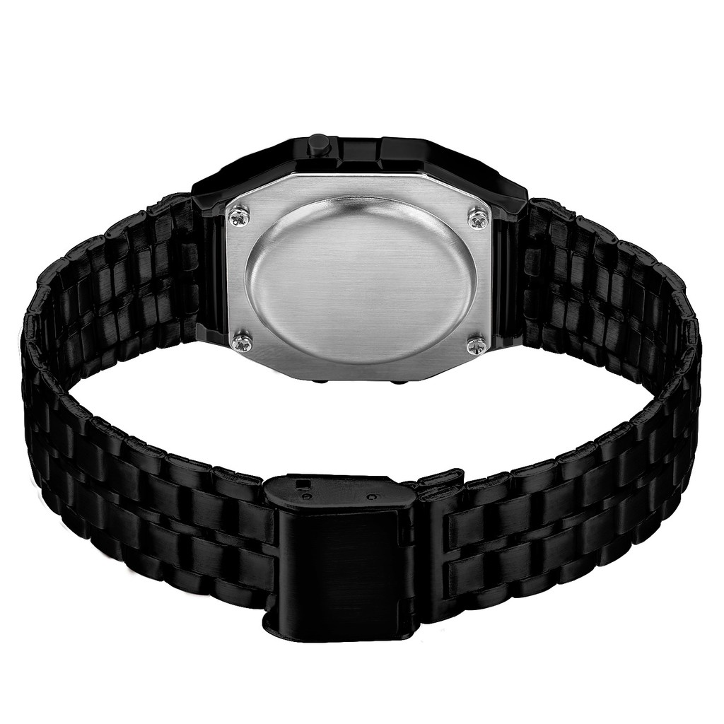 Đồng hồ điện tử thời trang nam dây hợp kim WR WR001 + tặng dây đeo tay bất kì