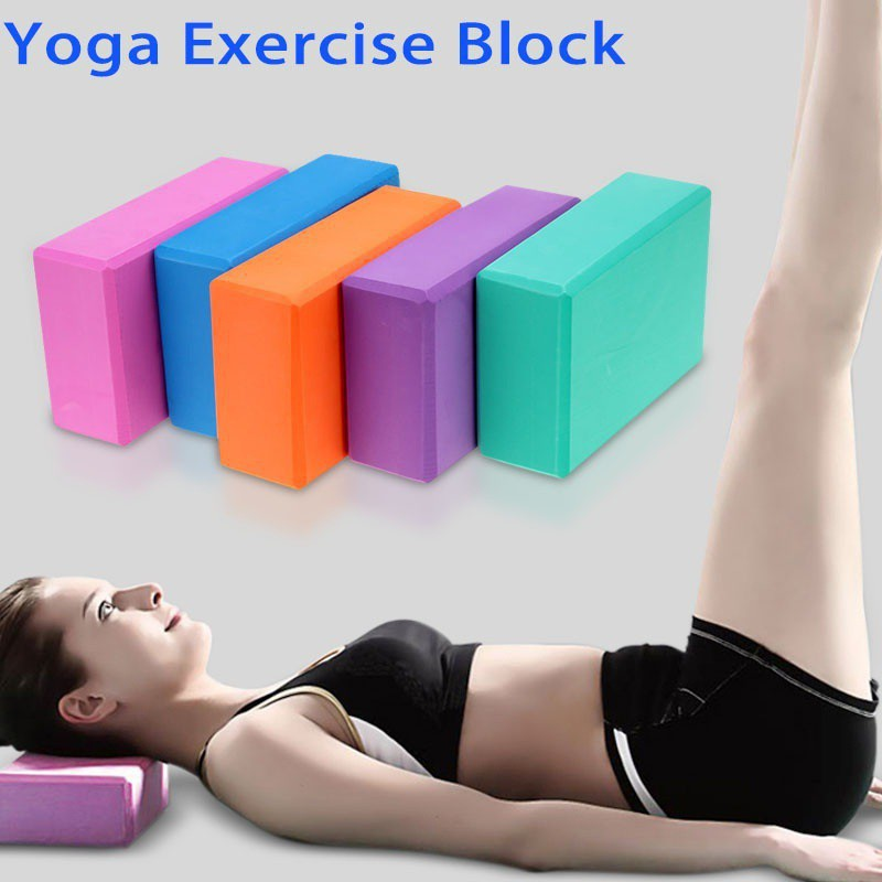 Sport Block Foam Brick Fitness Props Stretching Aid Gym Pilates