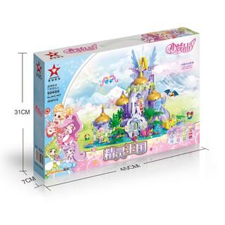 Bộ xếp hình Star Diamond 80680 Fantasy Town – 585 chi tiết