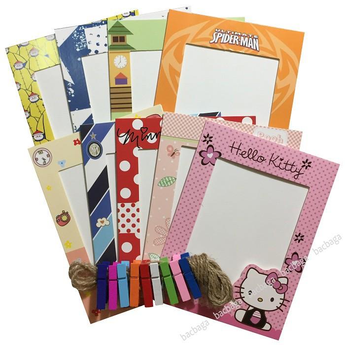 Set 9 khung ảnh giấy treo tường Hello Kitty 6 inch - 2794807 , 582094472 , 322_582094472 , 45000 , Set-9-khung-anh-giay-treo-tuong-Hello-Kitty-6-inch-322_582094472 , shopee.vn , Set 9 khung ảnh giấy treo tường Hello Kitty 6 inch