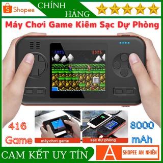Máy Chơi Game Cầm Tay 416 Game Kiêm Sạc Dự Phòng Dung Lượng 8000mAh Màn Hình LCD Màu 2,8 Inch 146x77x18mm Full Màu Sắc thumbnail