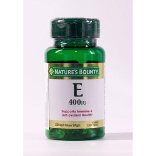 Chống lão hóa da Vitamin E 400iU Nature s Bounty (Đảm bảo hàng chính hãng) thumbnail