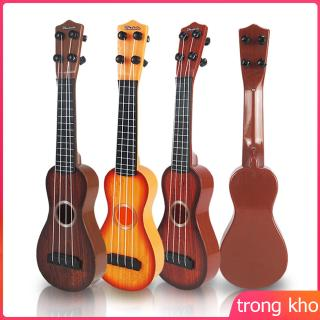 4 Strings Kid's Plastic Musical Mini Ukulele Small Educational Hand Guitar Toys for Child