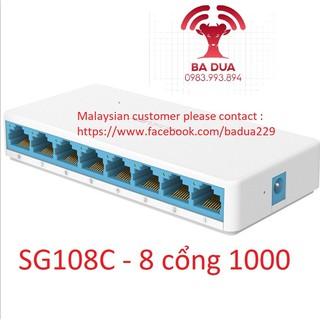 Bộ Chia Mạng Switch Mercury 5 cổng , 8 cổng port Gigabit S105C , S108C , SG105C , SG108C