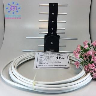 Yêu Thíchăng ten tivi thông minh thu sóng DVB T2 kèm dây 15m - TBGD.angten-15m