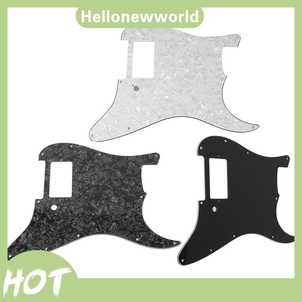PVC+Celluloid Pickguard Fender with Humbucker for Electric Guitar Parts