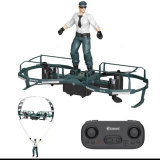 1 pin – Eachine E019 2 trục RC Stunt Paraglider Chế độ máy bay Độ cao giữ chế độ Drone Drone RTF