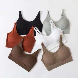 bra 1811 yoga gym thể thao dáng ngắn ôm ngực áo lót nữ