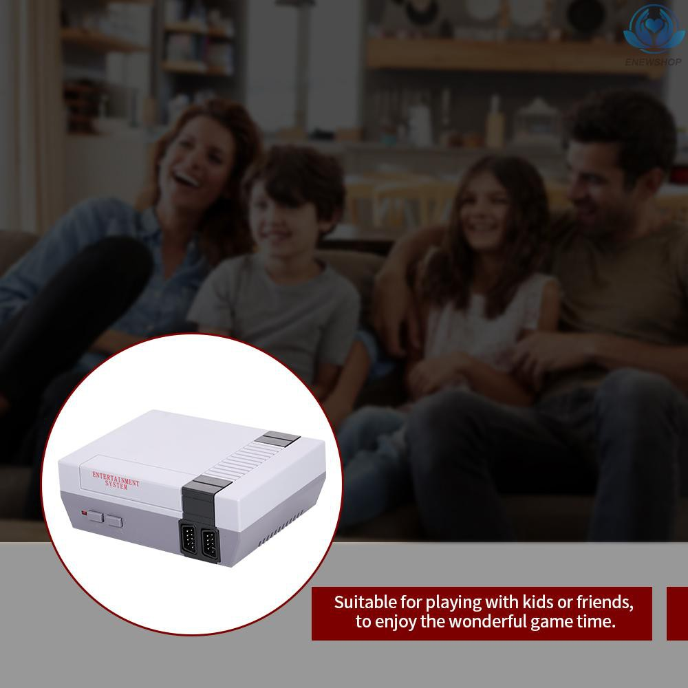 【enew】Built-In 620 Games Mini TV Game Console 8 Bit Classic Handheld Gaming Player AV Output Video Game Console Toys Gifts US Plug