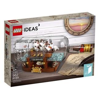 [CÓ HÀNG] Lego 21313 Ship In A Bottle – Tàu trong chai trong IDEAS chính hãng (như hình)