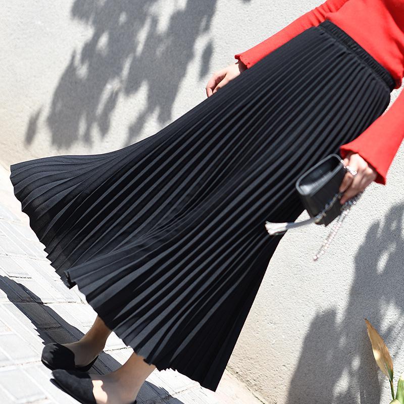 Chân Váy Maxi Dài Nhiều Màu Sắc Chất Liệu Chiffon