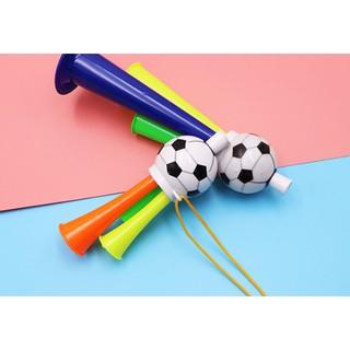 Còi thổi hình quả bóng cho trẻ em (kích thước 13,5 x 5cm)