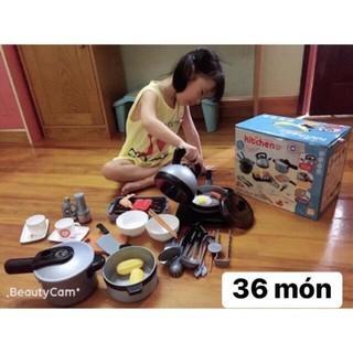 36 MÓN- BỘ ĐỒ CHƠI NẤU ĂN – Bộ đồ chơi Nhà Bếp