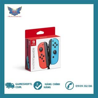 Tay Cầm Nintendo Switch Joy-Con Neon Red Neon Blue - Hàng Nhập Khẩu - new nguyên seal thumbnail