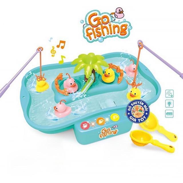 [Hàng Loại 1_FreeShip] Bể câu cá vịt điện tử phát nhạc giúp bé thoải mái sáng tạo thông minh .