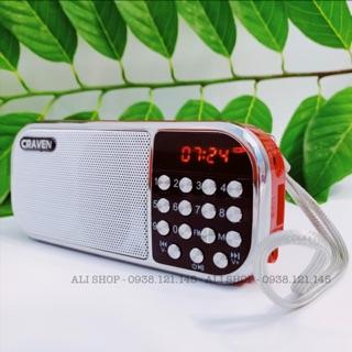 Máy nghe nhạc đa năng ,FM, USB, Thẻ nhớ Craven CR-22
