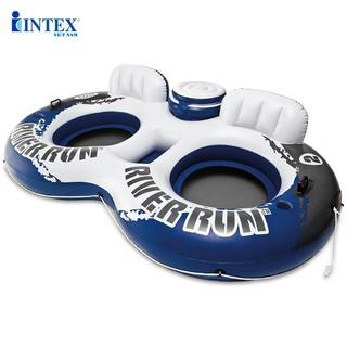 Phao bơi đôi có tựa lưng Intex 58837
