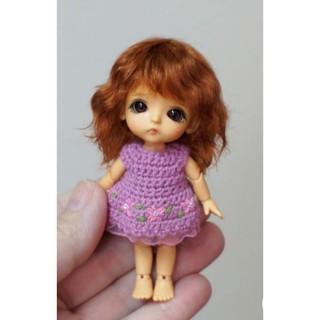 Đầm len búp bê 5-8 inch siêu nhỏ