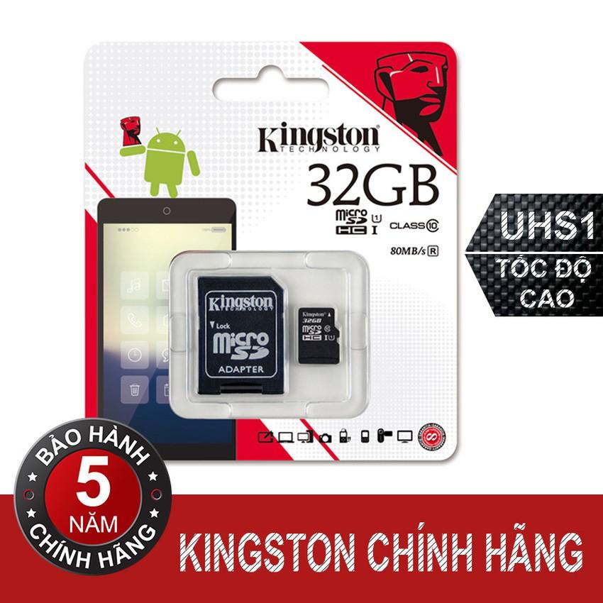 Thẻ-nhớ-Micro-32GB-Kingston-Class10-kèm-Adapter