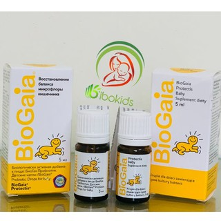 (Hộp thủy tinh) Men vi sinh BioGaia Protectis 0+ (5ml) thumbnail