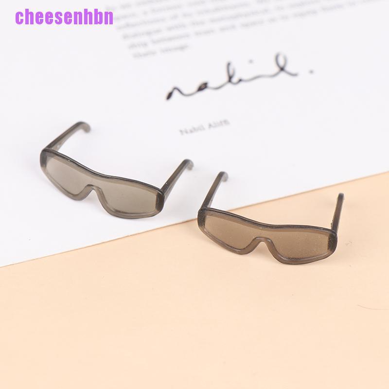 [cheesenhbn]1/2/5Pcs Fashion Doll Cool Glasses Sunglasses Retro Doll Glasses 30*20mm