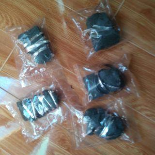 (hàng sẵn )Bộ 5 gói bùi nhùi thép stell wool mini buộc sẵn dây thép