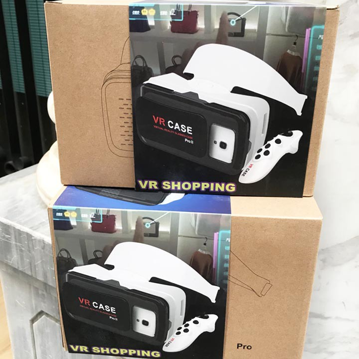 Kính xem phim 3D VR CASE PRO II Công Nghệ Chuẩn Hãng