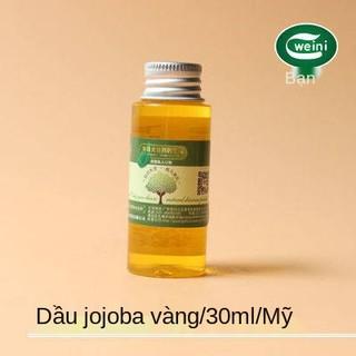 Dầu Jojoba Mỹ 30ml để chăm sóc tóc mụn đầu đen Massage dầu cơ bản Tinh dầu DIY Handmade Soap Lip Balm, Jojoba thumbnail