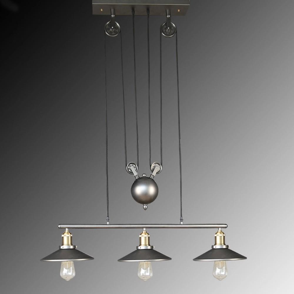Đèn Thả Dây Cổ Điển 3 Đèn Vintage VT213