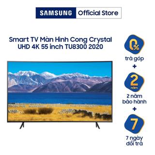 Smart Tivi Samsung Màn Hình Cong Crystal UHD 4K 55 inch UA55TU8300KXX - Miễn phí lắp đặt thumbnail