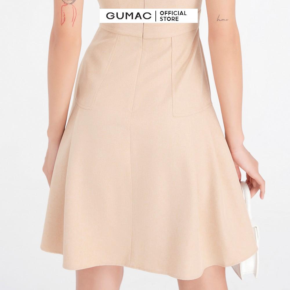 Mặc gì đẹp: Đúng gu với Đầm xòe nữ chiết ly tùng GUMAC DB604