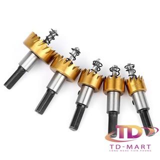 👉 Bộ 5 mũi khoan khoét lỗ HSS V2 phủ titanium cao cấp 🎄