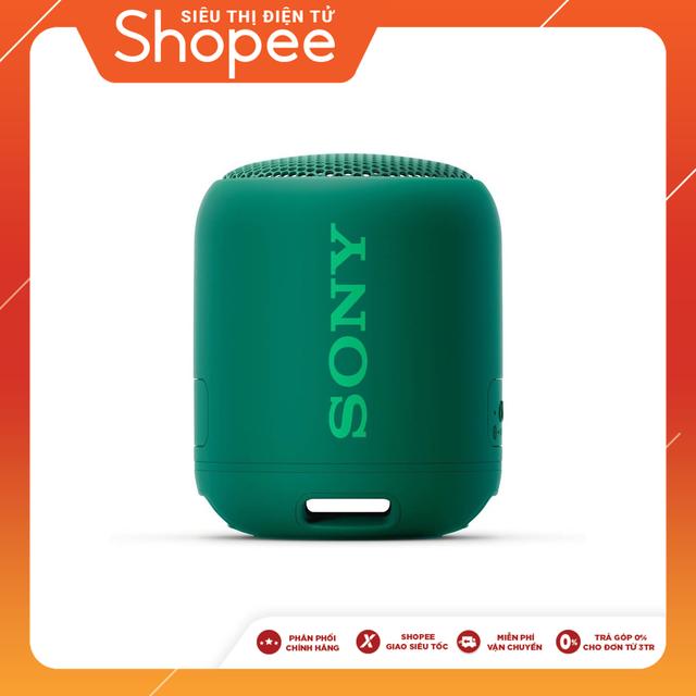 Loa Bluetooth Sony SRS-XB12 (Model 2019) - Hàng Chính Hãng