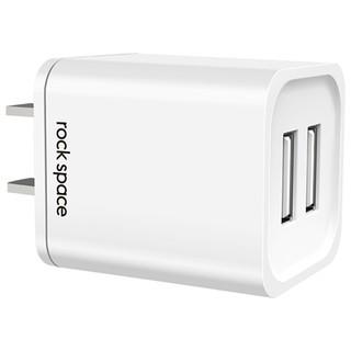 Củ sạc Rockspace T22 , 2,1A 2 cổng USB