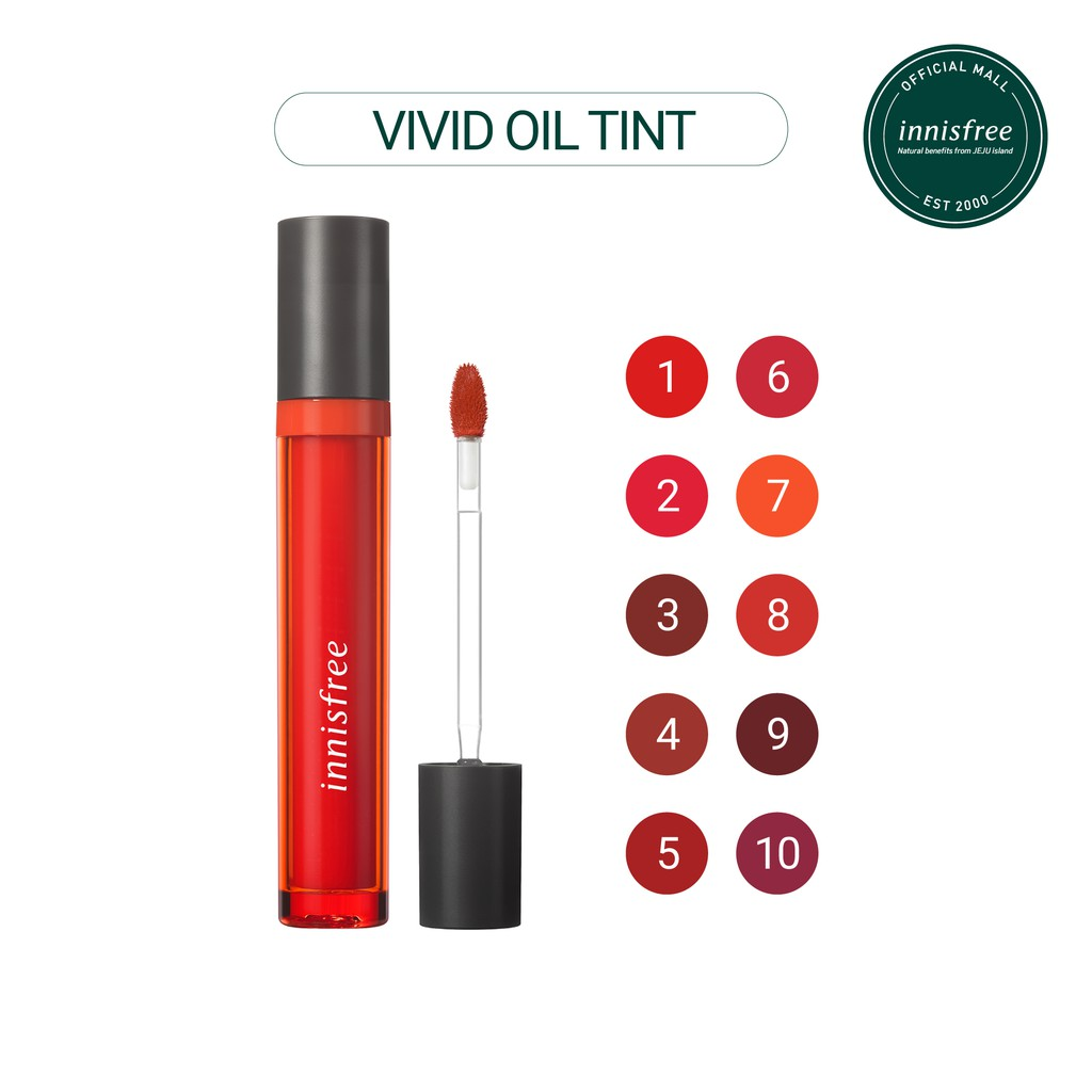 Son tint dưỡng ẩm innisfree Vivid Oil Tint 4g