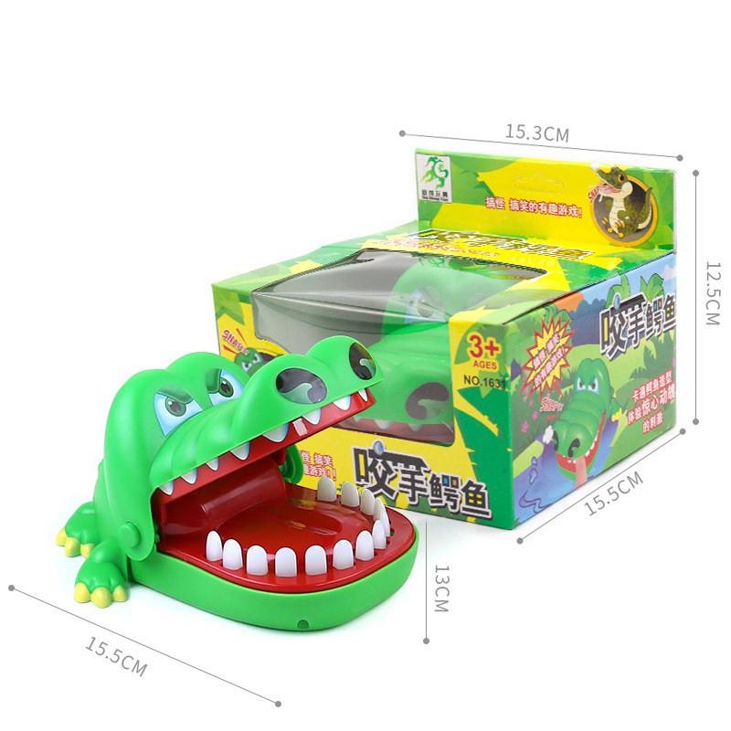 ⚡️SIÊU RẺ⚡️ Trò chơi Khám Răng Cá Sấu, Cá Sấu Cắn Tay