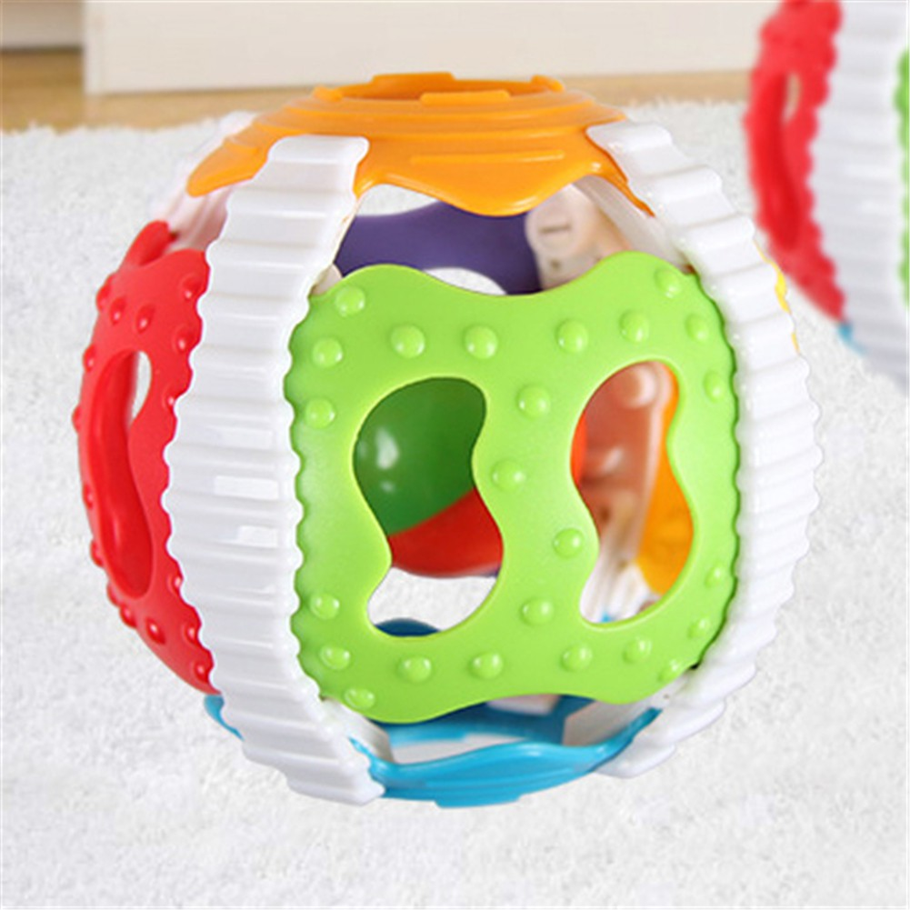 Puzzle Early Education 6-Color Gripping Ball Rattles