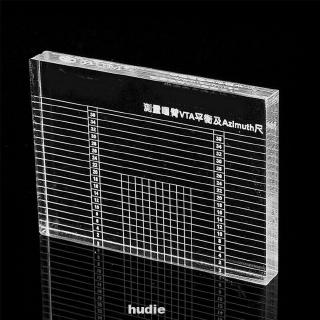 Balance Measuring Phono Tonearm Vinyl Record Player Azimuth Ruler