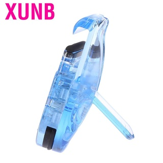 XUNB Mini Portable Curler Clip with Rubber Eyelash Natural Curling Cosmetic Tools