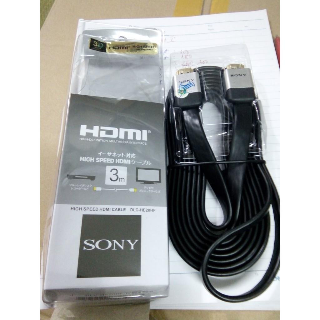 Cáp tín hiệu HDMI Sony 3m Giá chỉ 43.000₫