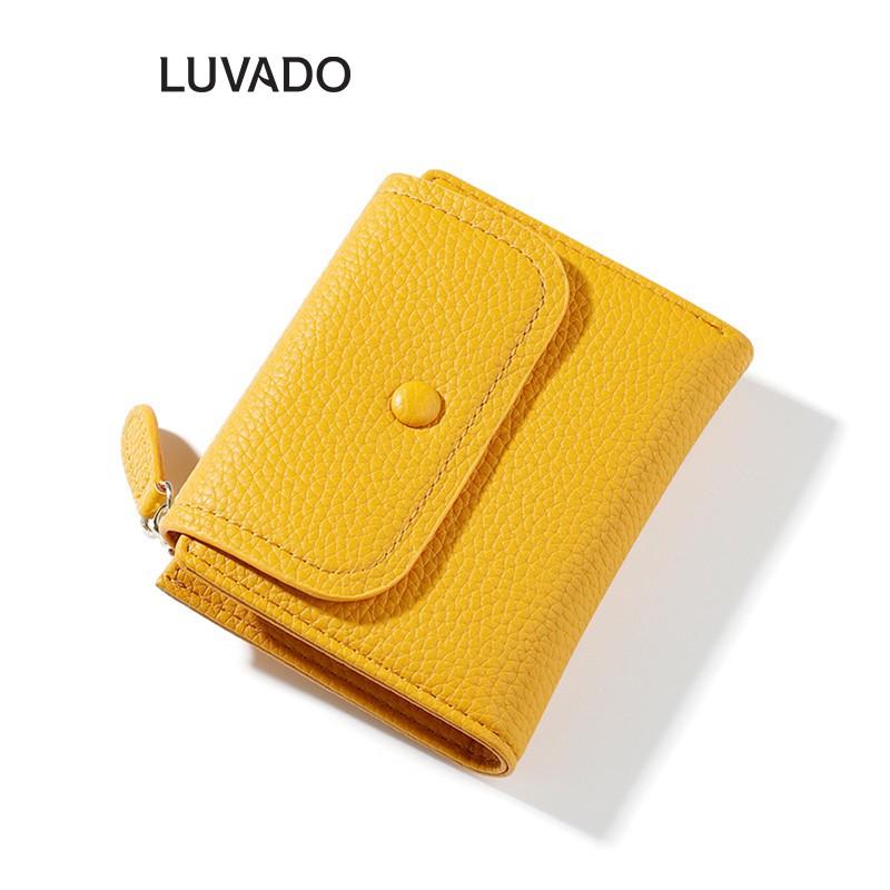 Ví nữ gấp 3 ngắn TAOMICMIC cầm tay mini cute dễ thương nhỏ gọn bỏ túi thời trang LUVADO VD401