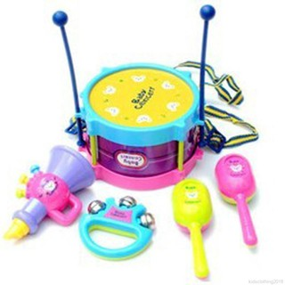 5 Pcs/Set Children Instruments Musical Toys Funny Educational Gift Toy