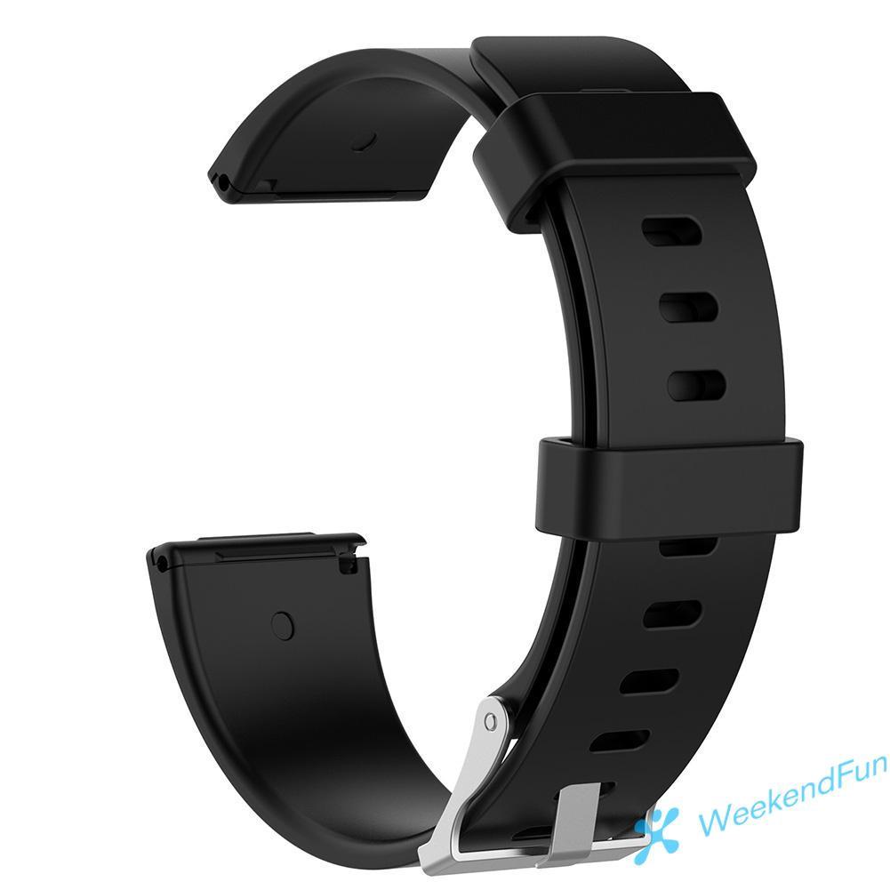 Dây Đeo Silicon Mềm Cho Đồng Hồ Thông Minh Fitbit Versa