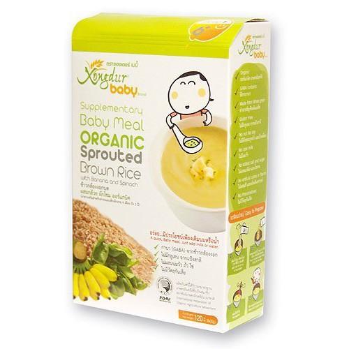 Bột ăn dặm hữu cơ cho bé từ 6m Xongdur baby 20g